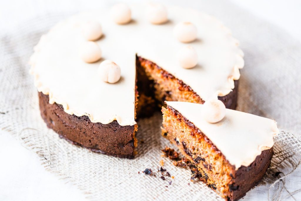 thermomix simnel cake