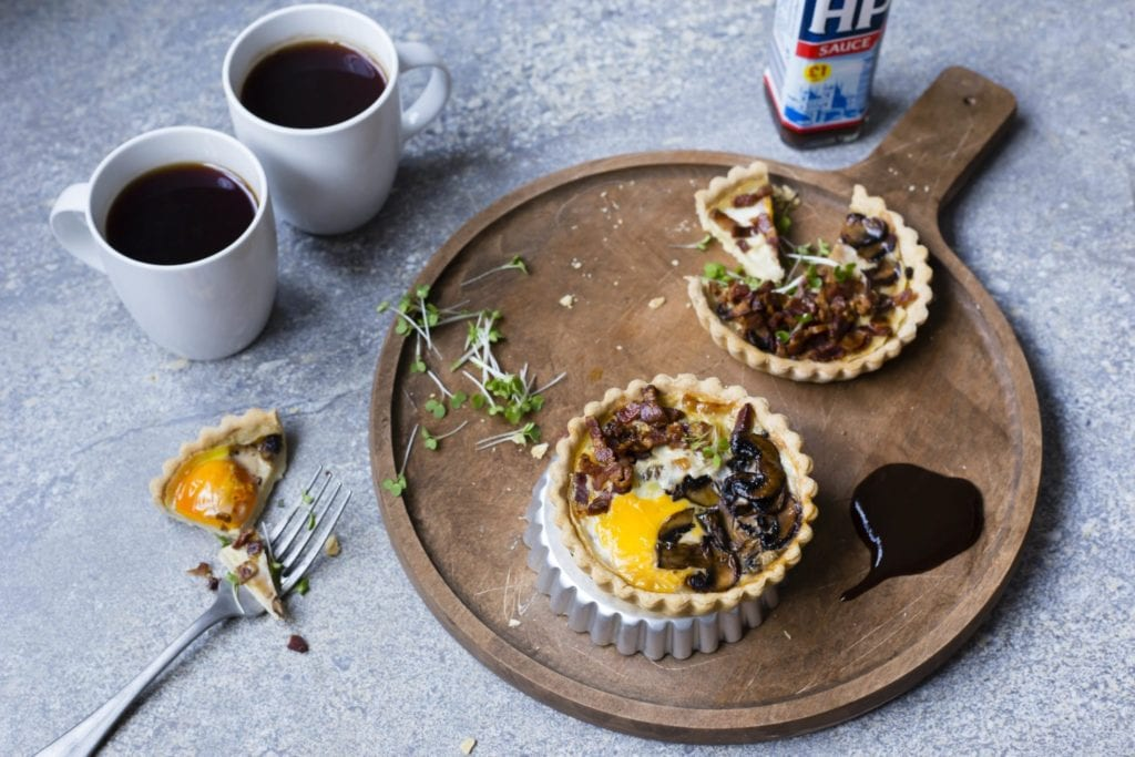 thermomix breakfast bacon tart