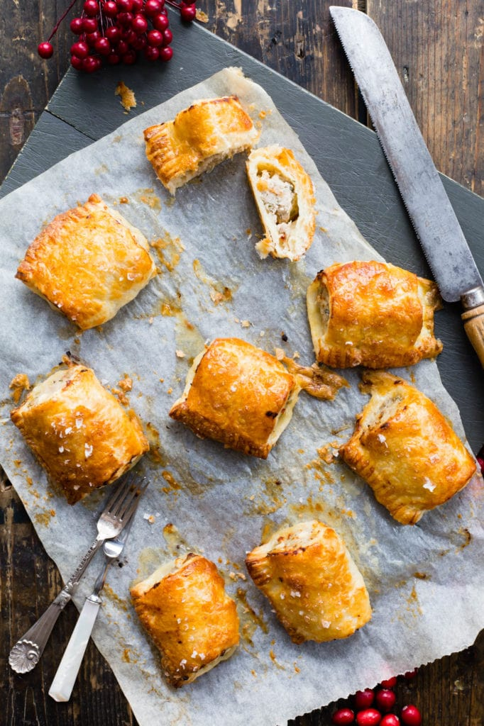 thermomix feta sausage rolls