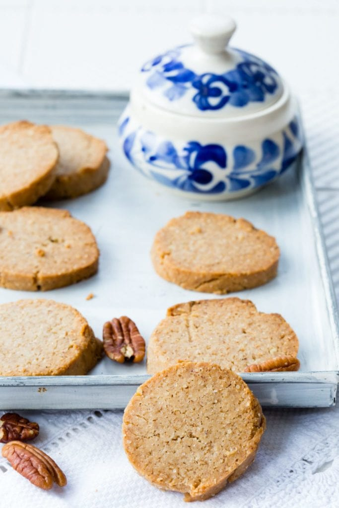 thermomix pecan shortbread