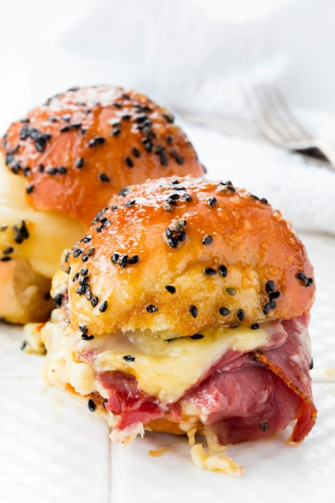 Thermomix Ham and Cheese Sliders
