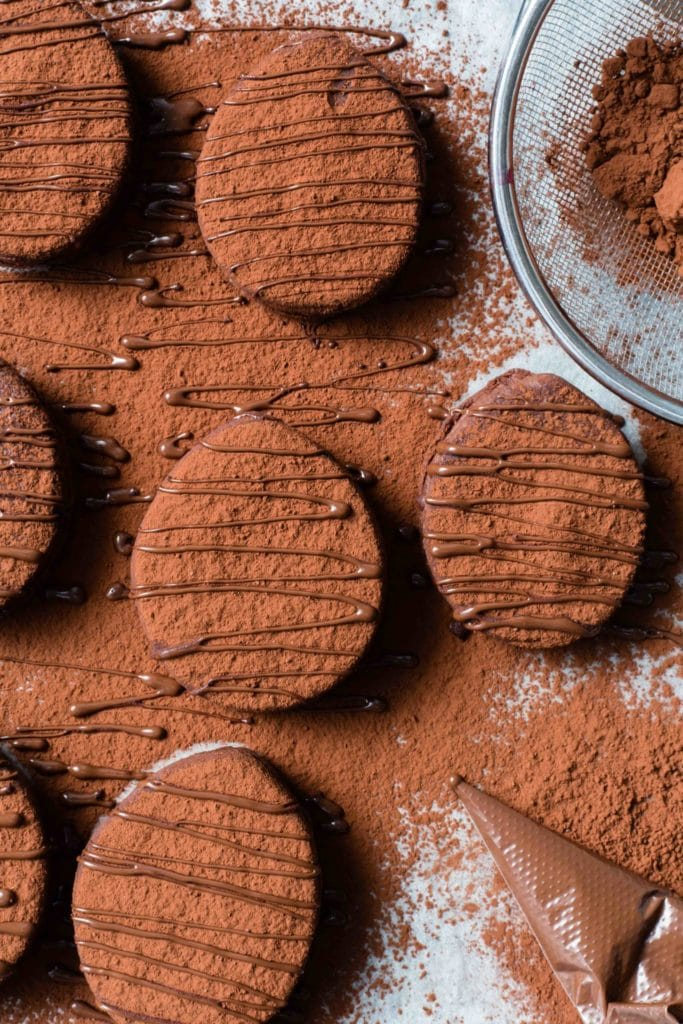 thermomix easter egg bourbon biscuits