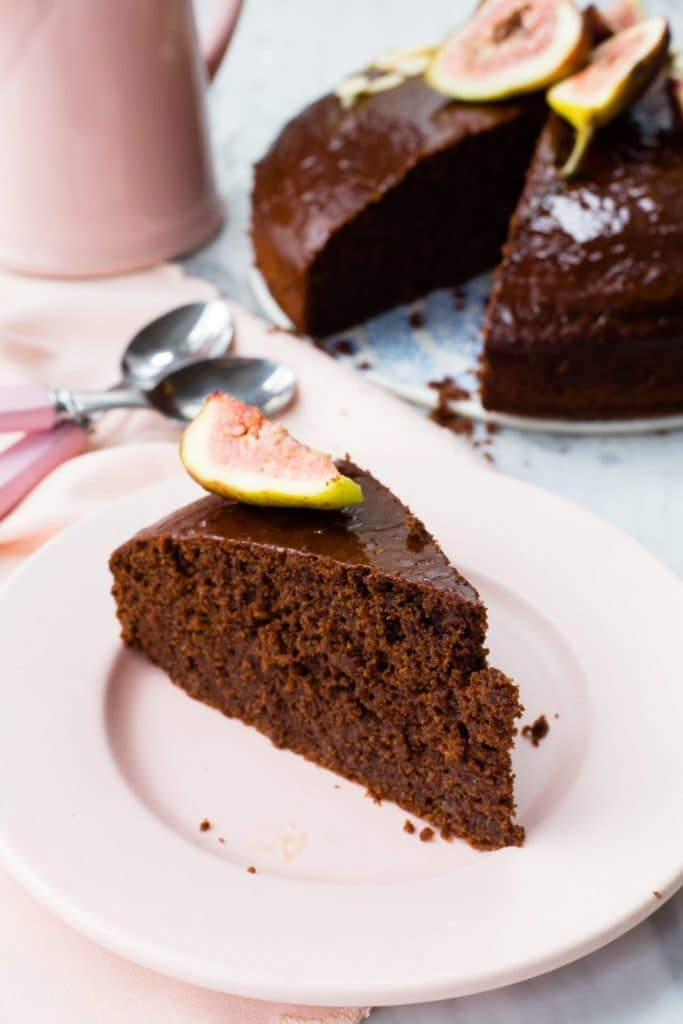 Vegan Gluten Free Chocolate Cake Sophia S Kitchen