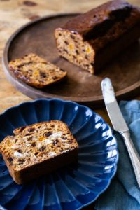 earl grey tea fruit bread loaf