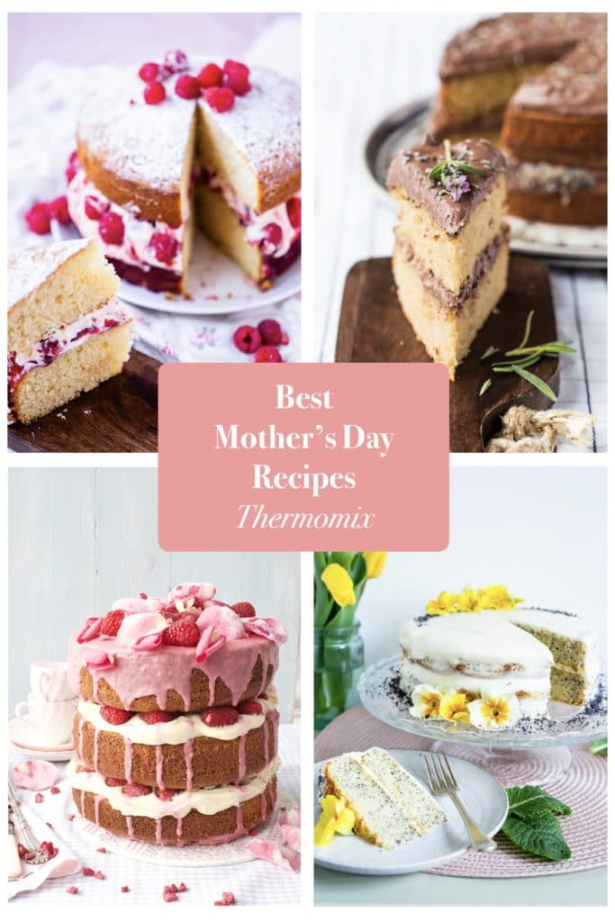 mother's day recipes thermomix