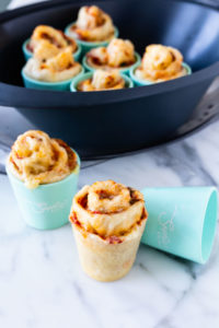 steamed pizza scrolls