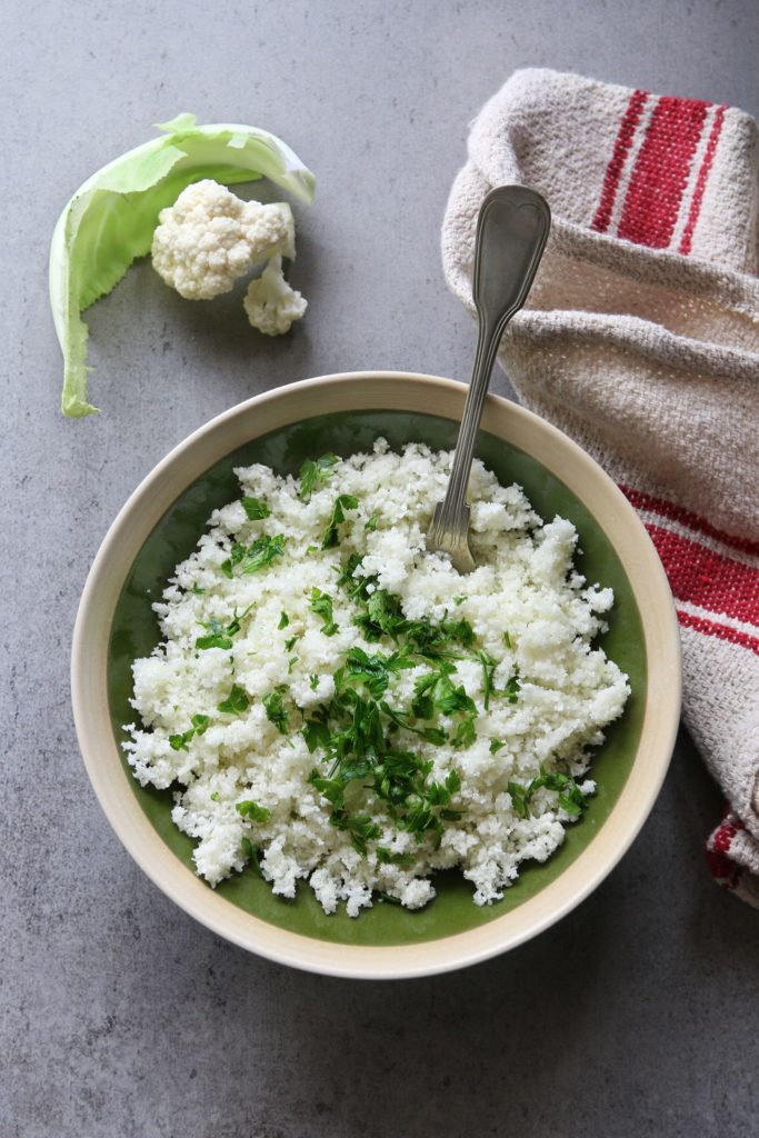 Cauliflower Rice | Sophia's Kitchen
