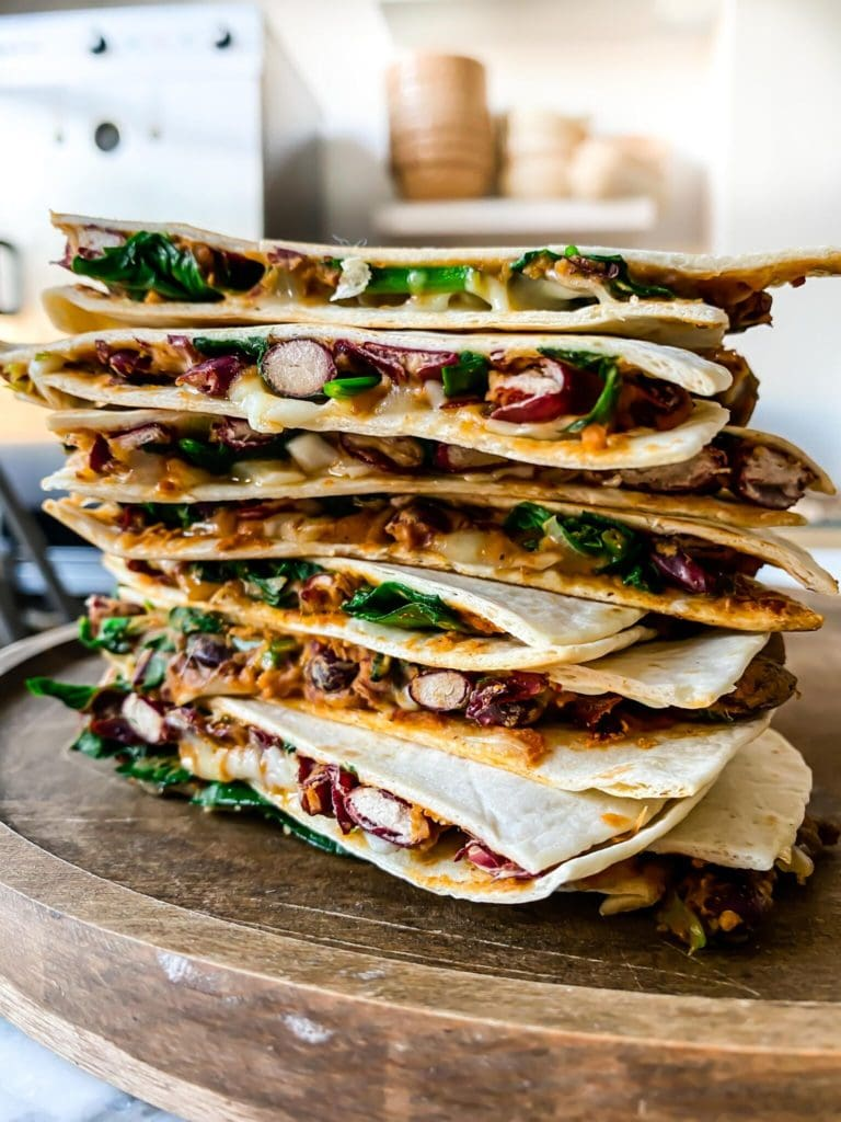 Mexican Bean Quesadillas | Sophia's Kitchen