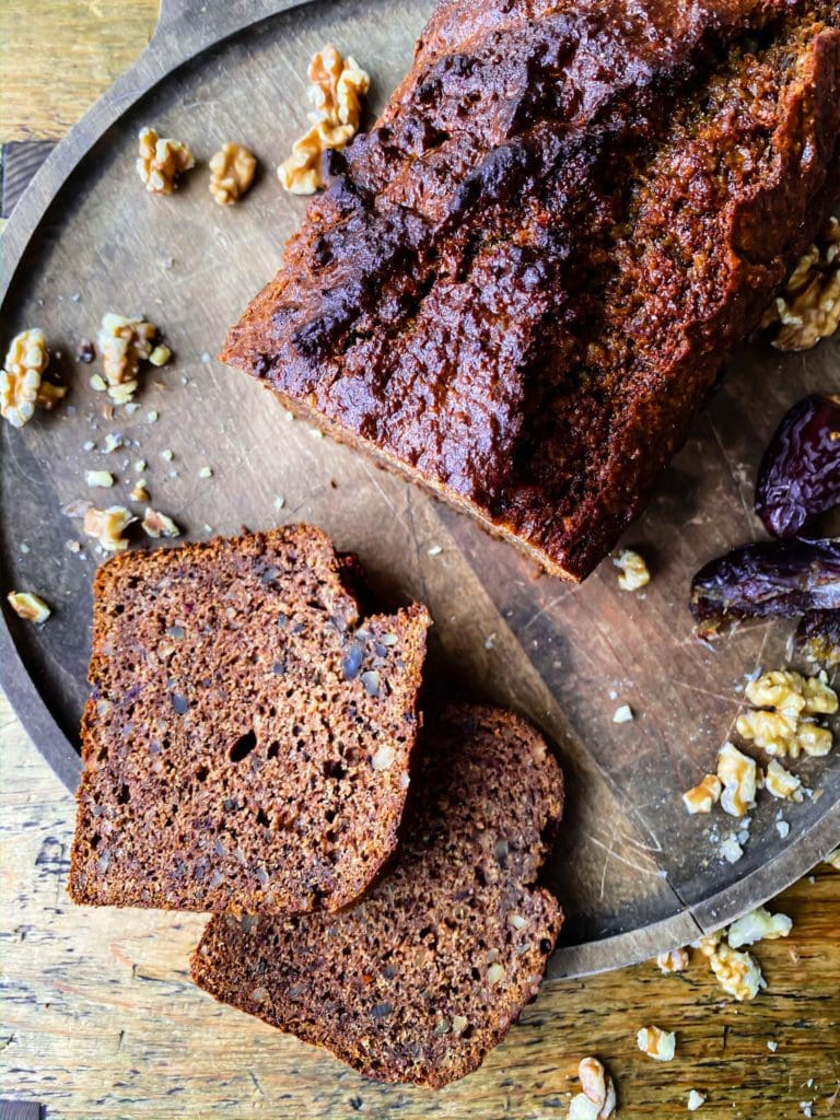 Date and Walnut Loaf | Sophia's Kitchen